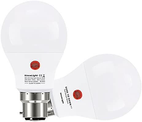 2 de luz solar• Casquillo • Cálido 850 crepuscularsensor Blanco • Paquete lúmenes • Kelvin 9 con de Vatios 3000 • E27 sensor Bombillas LED lK3JF1cT