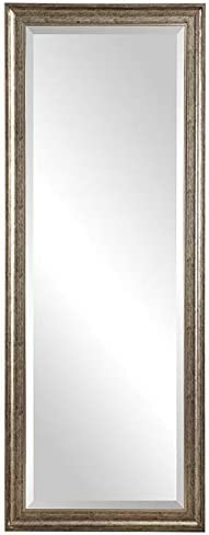 Uttermost Burnished Wall Mirror in Silver