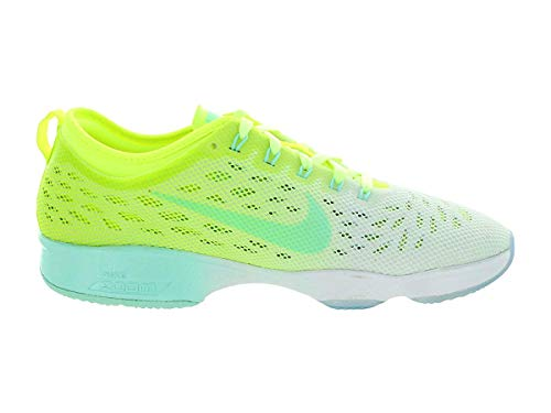 Indoor Shoes Womens Court Agility Nike Fit Green Zoom xqURZp