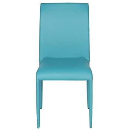 Varie Sedie colorate in ecopelle per cucina, sedia design da ...