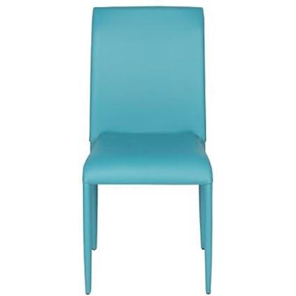 Varie Sedie colorate in ecopelle per cucina, sedia design da bar ...