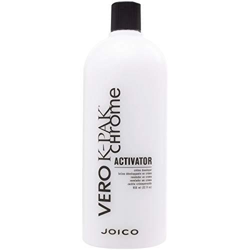 Chrome Creme - Joico K-Pak Chrome Activator Creme Hair Color Developer, 32 Ounce