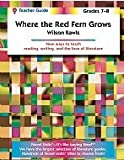 img - for Where the Red Fern Grows - Teacher Guide by Novel Units, Inc. book / textbook / text book