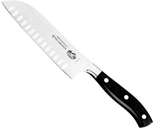 Victorinox Forged 7-Inch Granton Edge Santoku Knife ()