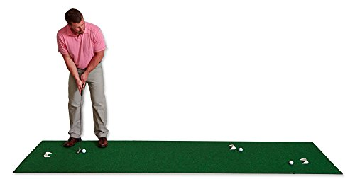 Putt-A-Bout Golf Putting Mat, 3 x 11-Feet, Green (Best Indoor Putting Green)