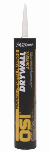 Henkel 827634 OSI Formula #38 28-Ounce Drywall and Metal Framing Adhesive