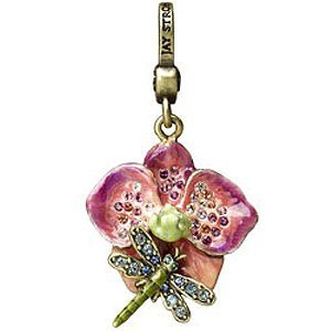 Jay Strongwater Orchid Charm