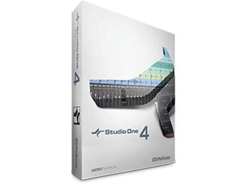 Presonus Studio One 4 Artist//Boxed Channel Multitrack Recording Software