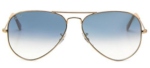 c36a6a4680 Ray-Ban RB3025 001 3F 58mm Gold Metal   Blue Gradient Lenses Made in ...