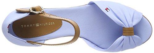 Blue Chambray Sandal Hilfiger 407 Elba Iconic Tommy Bleu Espadrilles Femme O8ZFZxH