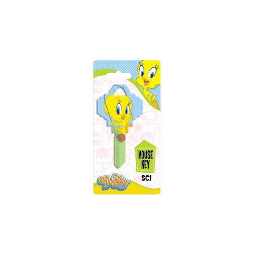 Hy-ko Tweety Bird Swing Schlage SC1 House Key Looney Tunes