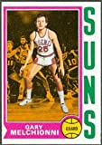 1974 Topps Regular (Basketball) Card# 71 Gary Melchionni of the Phoenix Suns ExMt Condition