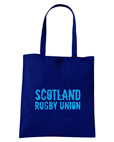 RUGGERS RUGBY2 Shopper Speed Shirt Blu Navy Borsa TRUG0093 SCOTLAND POqwYw84x
