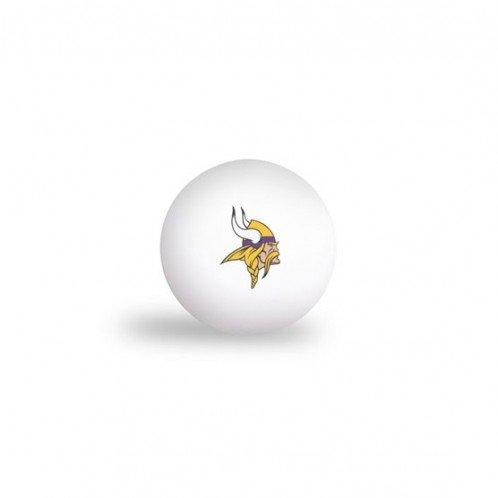 Minnesota Vikings Ping Pong Balls – 6パック B078ZL2VXZ