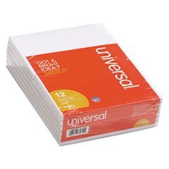 Scratch Pads, Unruled, 4 x 6, White, 100-Sheet Pads, 12 pack, Total 12 PK, Sold as 1 Carton