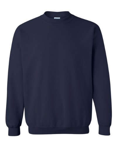 Gildan Men's Heavy Blend Crewneck Sweatshirt - Medium - Navy