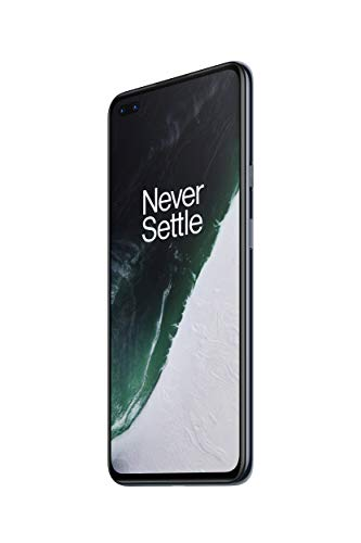 "OnePlus NORD Smartphone Ash Grey | 6.44"" Fluid AMOLED Display 90Hz 