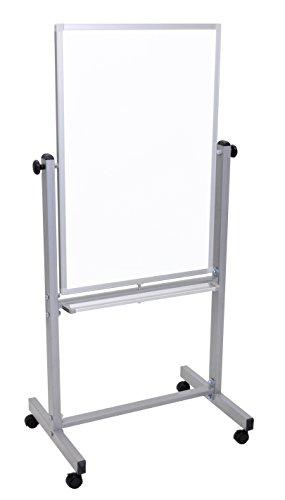 Luxor Office Presentation Reversible Magnetic Whiteboard, Aluminum (626-L270)