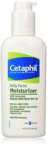 Cetaphil Daily Facial Moisturizer, SPF 15, Fragran…