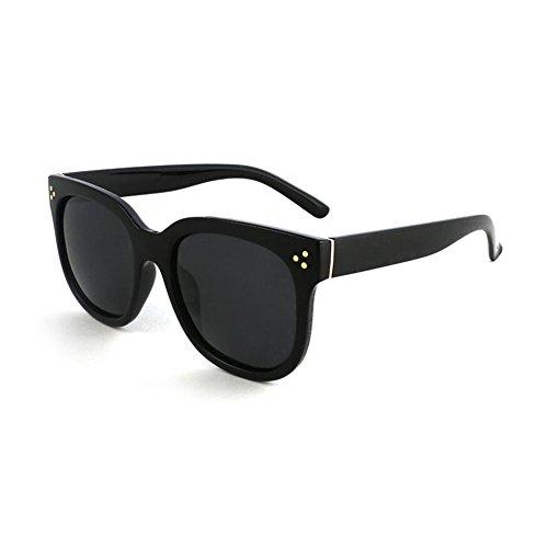 c04f17e78e WYYY gafas de sol Sra. Hombres Clásico Retro Marco Redondo Luz Polarizada  Decoración Protección Solar