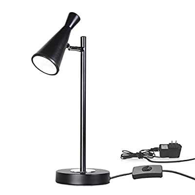 Sunllipe LED Desk Lamp 16.5 inches Energy-Efficient Task Lamp for Reading,Working and Studying - 5W Warm White