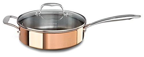 Kitchenaid Kcp35ehcp Tri Ply Copper 3 5 Quart Saut 195 169 With