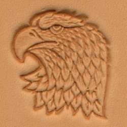 Tandy Leather 3D Left Face Eagle Head Stamp 88361-00