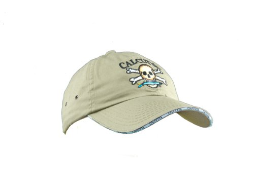 Calcutta Men's Low Profile Cap (Khaki, One - Logo Cap Low Profile