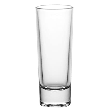 Amazoncom Barconic 2 Oz Tall Clear Shot Glass Pack Of 12 Shot