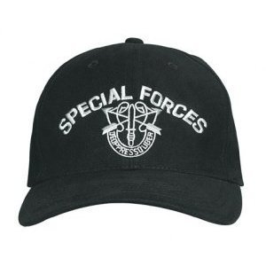 Rothco Special Forces Low Profile Cap, Black