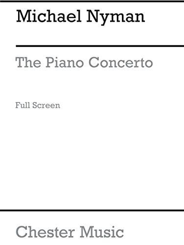 Michael Nyman: The Piano Concerto In Full Score. Partitions pour Piano, Orchestre