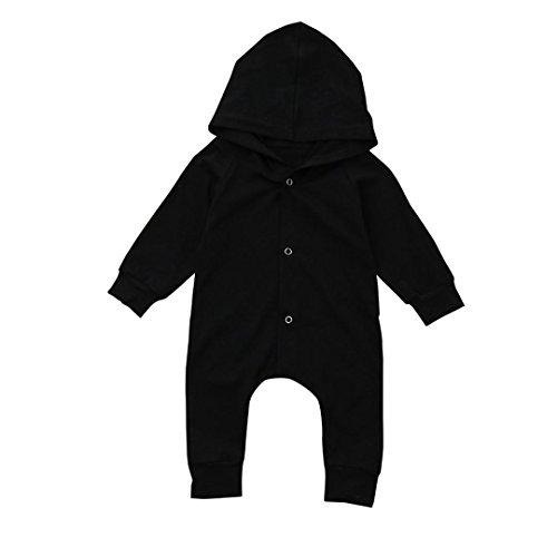 Newborn Baby Boys Footie Coverall - 6
