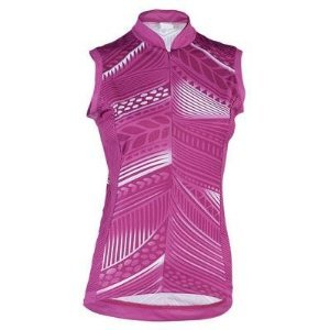 Shebeest Women's S-Cut Feather Sleeveless Cycling Jersey, Orchid (Shebeest Womens Jerseys)