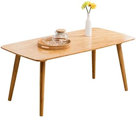 Lage Prijs Te Koop Xiaoli Nordic salontafel minimalistisch bamboe salontafel rechthoekig startpagina slaapkamer bijzettafel voor woonkamer sofa theetafel salontafel duurzaam A6dFBA4