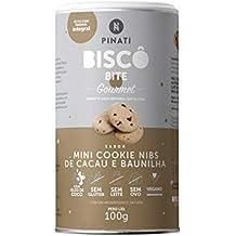 Biscô Mini Cookie, Biscoito Gourmet Super Saúde Lata
