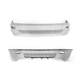 Crash Parts Plus Front Bumper Cover for 1993-1997 Toyota Corolla