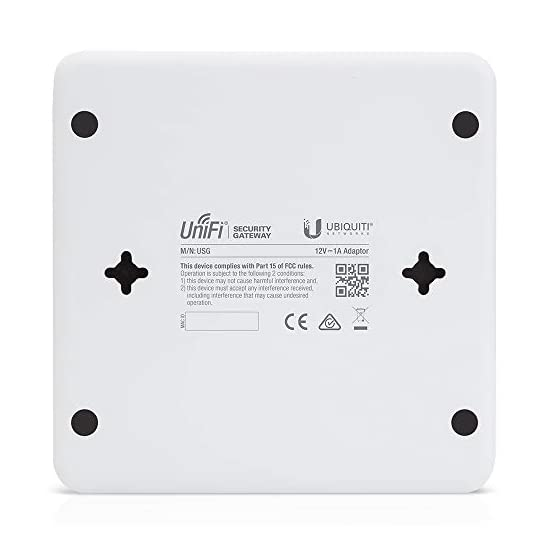 Ubiquiti Unifi Security Enterprise Gateway Router with Gigabit Ethernet 31ob9b9VddL. SS555