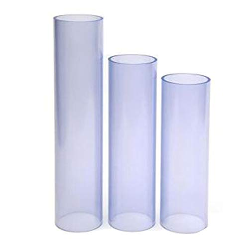 Choose Your Length Clear PVC, 48 4 ft 1 Inch Clear PVC Schedule 40 Pipe 5 Inches to 8 Feet