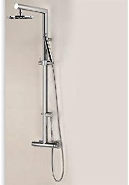 Gessi Trasparenze 23465 kit de ducha termostático de pared