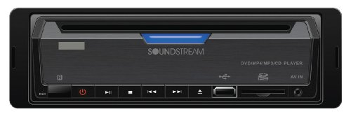 Soundstream VDVD-165 Single-DIN DVD Player with 32 USB Playback by Soundstream