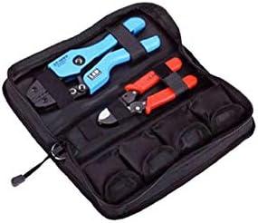 ケーブルカッター 圧着ペンチ ミニオックスフォードコンビネーションツール 圧着ペンチキット 手動圧着工具 交換可能なモジュール 手動ケーブルカッター