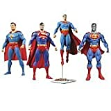 Diamond Comic Distributors Superman Through the Ages Action Figure Gift Set