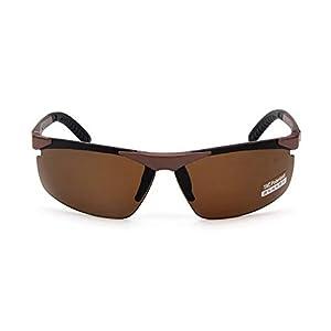 EYX Formula New Imitation Aluminum Magnesium Polarized Sports Cycling Sunglasses for Cycling Riding Running Glasses,Unbreakable Frame Sunglasses for Women Men Baseball Fishing Golf