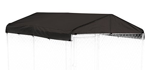 Weatherguard CL 00301 Kennel Cover, 5' x 10', Black by Weatherguard