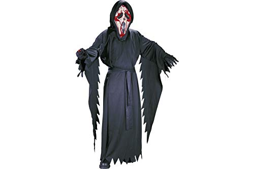 FUN WORLD EASTER UNLIMITED Bleeding Ghostface Scream Halloween Costume for Boys, Extra Large, with Included Accessories ()