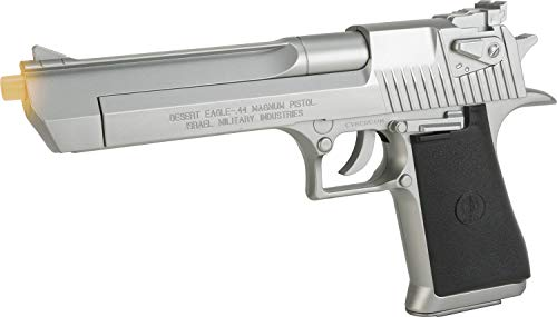 Soft Air Desert Eagle .44 Magnum Spring Powered Airsoft Pistol (Silver)