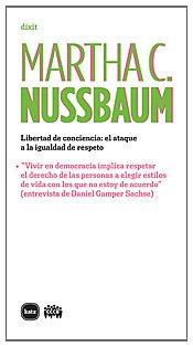 Libertad De Conciencia (dixit) Martha C. Nussbaum
