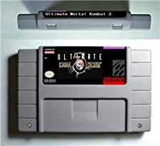 Ultimate Mortal Kombat 3 - Action Game Cartridge US Version - Game Card For Sega Mega Drive For Genesis