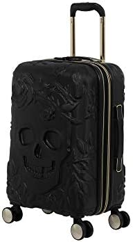 it luggage 21 Skulls II Hardside Expandable, Black, 21.3 Inches