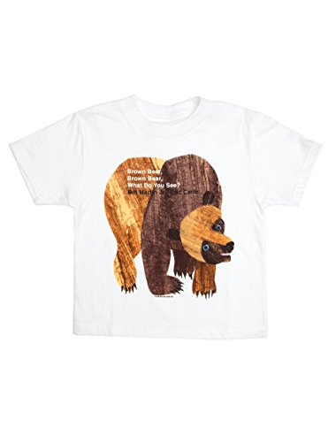 Out of Print Kids' Brown Bear, Brown Bear, What Do You See? T-Shirt 4/5 Year